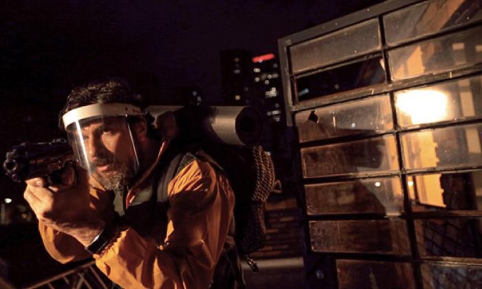 Gustavo Angarita Jr. en una de las escenas del cortometraje ganador.