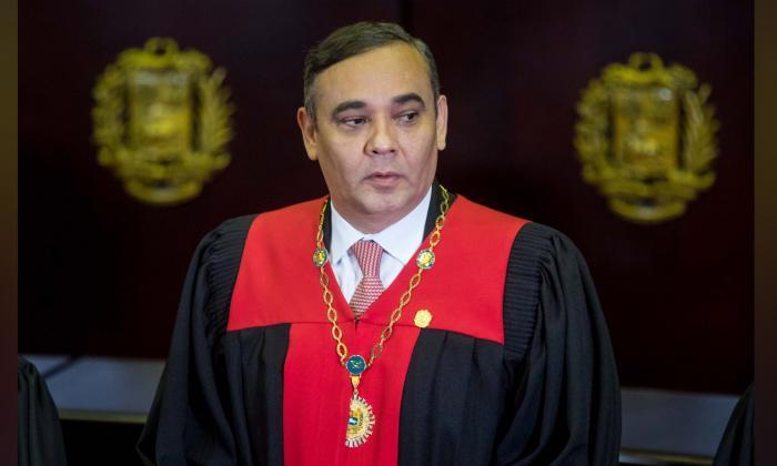 EEUU ofrece recompensa de 5 millones por el presidente del TSJ de Venezuela