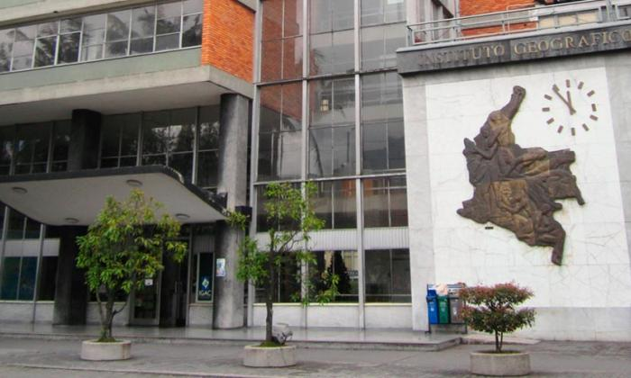 Sede del Instituto Geográfico Agustín Codazzi (IGAC).