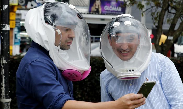 Emprendedores colombianos diseñan una burbuja para protección de la COVID-19