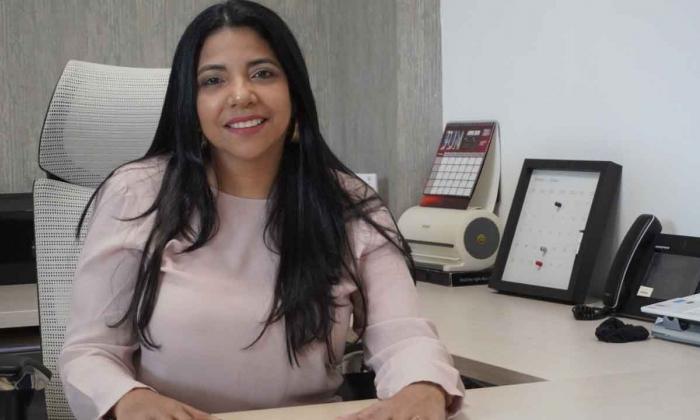 Mabel Moscote, nueva gerente de Telecaribe.