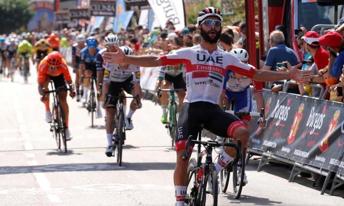 Fernando Gaviria se impone en la segunda etapa de la 'Vuelta a Burgos'