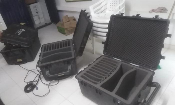 Roban 36 computadores en colegio de Guaimaral, Cesar