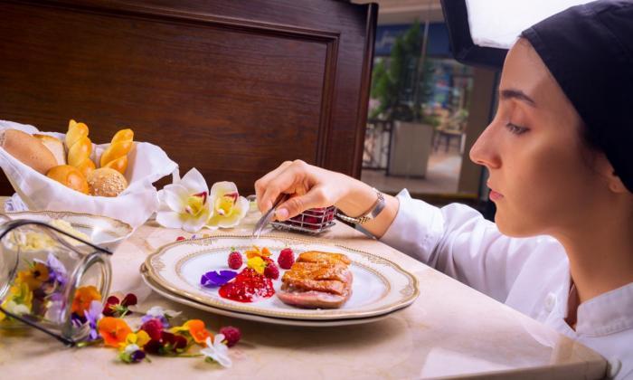 Un  plato de Marmi Ristorante, ganador del Premio a Mejor Restaurante a Manteles. Queda ubicado en Santa Marta.
