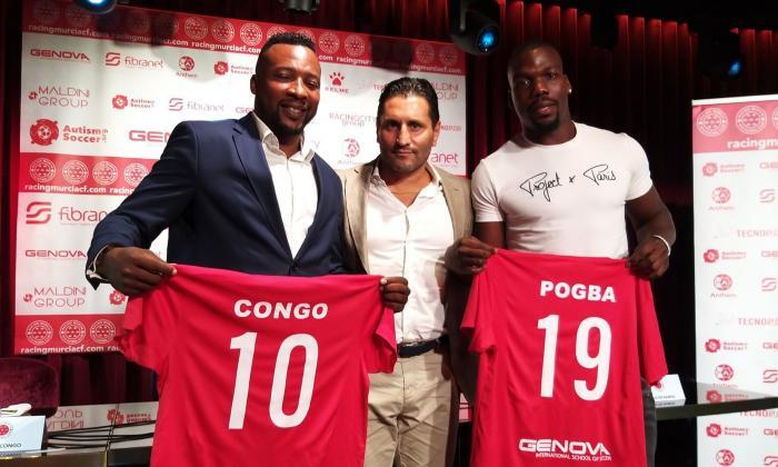 Edwin Congo, directivo y técnico de equipo de tercera división en España