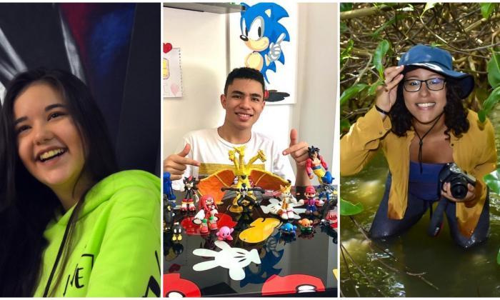 Cultivar las artes y cuidar el planeta: misiones de Ivana, Gabriel y Carolina