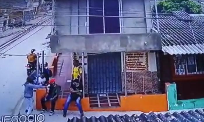 En video | Denuncian atraco en el barrio Las Colonias en Soledad