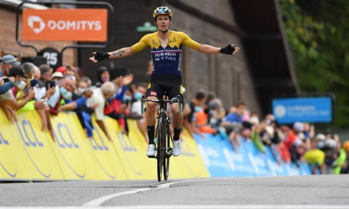 En video   Roglic le ratifica a Egan que anda fuerte y ya lidera el Dauphiné