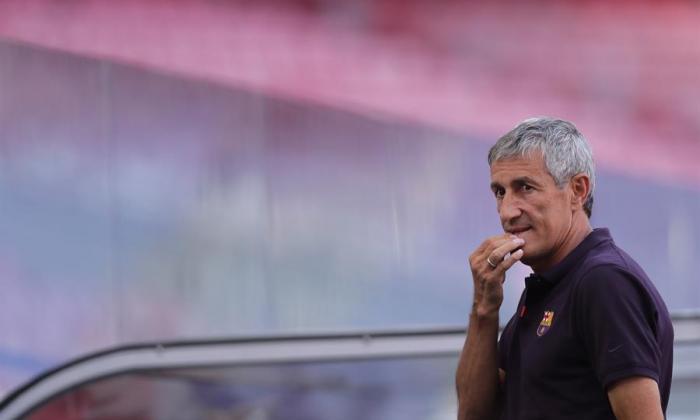 Quique Setién llegó al FC Barcelona tras la salida de Ernesto Valverde.