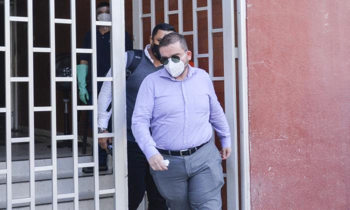 Andrés Rodríguez Cáez, entonces ex juez Promiscuo Municipal de Usiacurí.