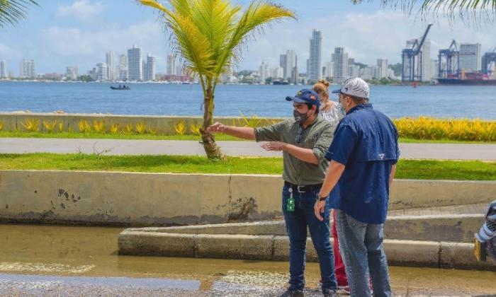 Alcaldía hará estudios de reordenamiento vial en sector turístico de Cartagena