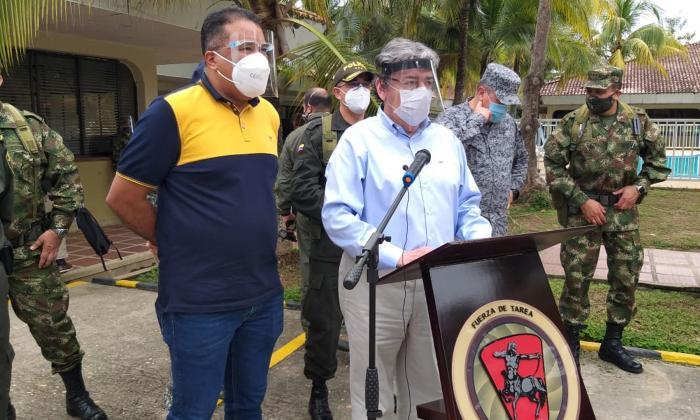 Tres recompensas por $220 millones por autores de masacre en Arauca
