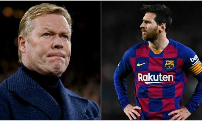 Ronald Koeman, nuevo técnico del FC Barcelona, espera contar con Messi para su proyecto deportivo.