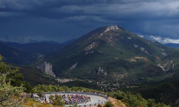 Orcieres, primer final en alto en el Tour de Francia