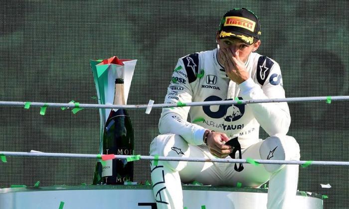 En video | Gasly gana el GP de Italia en la Fórmula Uno