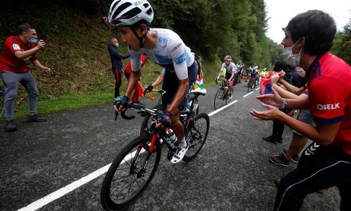 Colombia reta a Eslovenia en el Tour de Francia