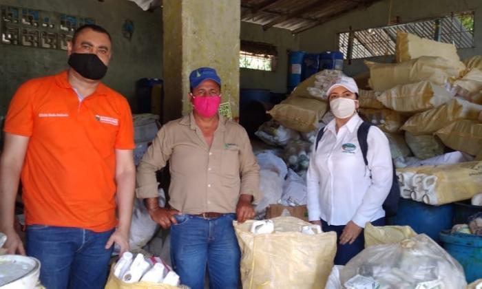 En Magdalena recogieron 2812 kg. de residuos posconsumos agroquímicos