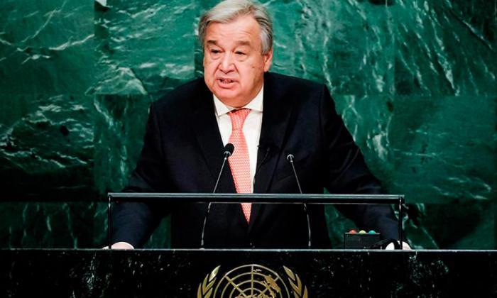 """""""El virus es la amenaza de seguridad global número uno"""": António Guterres"""