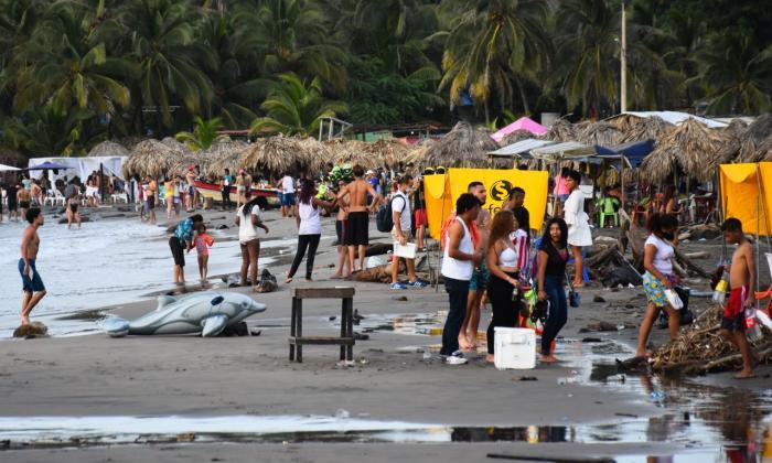 Gran afluencia de turistas en las playas del Atlántico