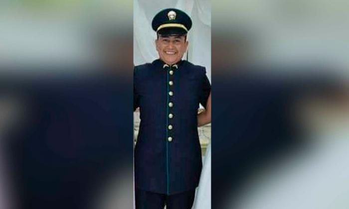 El intendente Jorge Solís quien murió en el nuevo atentado a la Policía en el Cesar.