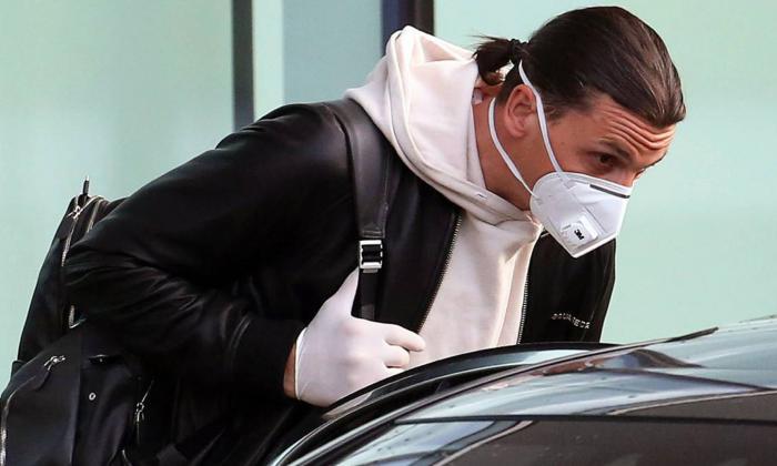 Zlatan dio positivo en una segunda prueba realizada antes del partido frente a Bodo.