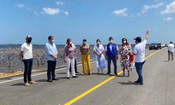 Vías del sur y de la Alta Guajira serán una realidad