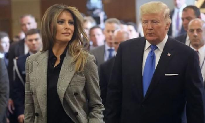 Pronta recuperación les deseó Duque a Donald y Melania Trump