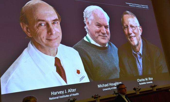 Ganadores del Nobel de Medicina descubrieron el virus de la hepatitis C