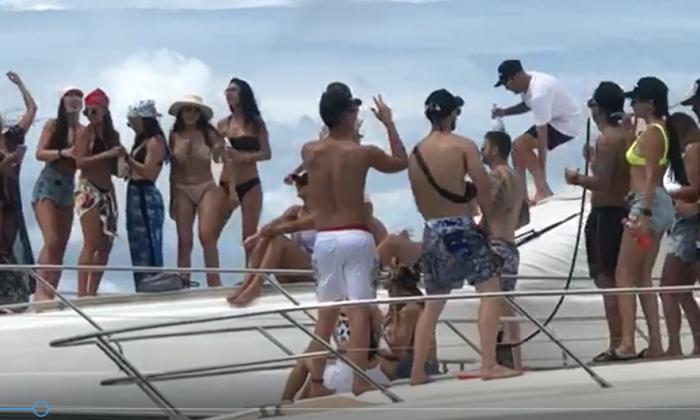 """En video   Autoridades de Cartagena evalúan fiestas """"sin control"""" en Cholón"""