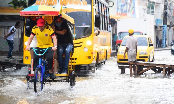 Distrito adopta medidas para temporada de lluvia