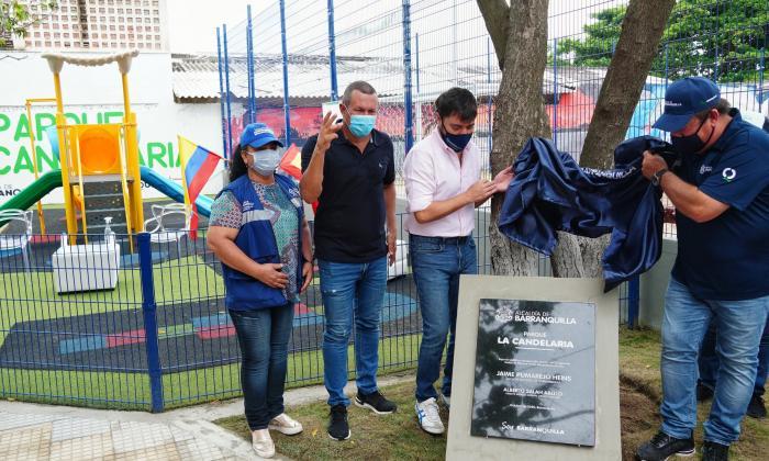 Pumarejo entregará 140 parques en cuatro años