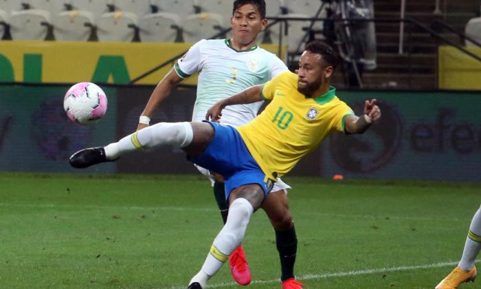 Con Neymar de titular, Brasil apabulló 5-0 a Bolivia