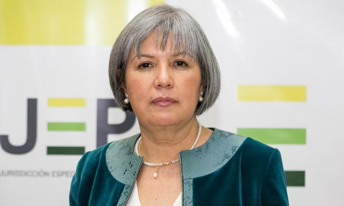 La presidente de la JEP, Patricia Linares, dijo que el país debe encontrar el camino para dejar la violencia.