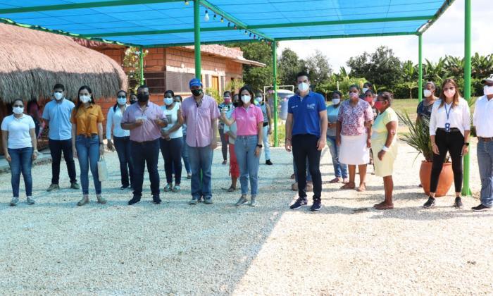 En Montería entregan semillas de berenjena para asociaciones de mujeres
