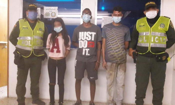 A la cárcel dos de los tres capturados por crimen de mujer en Soledad