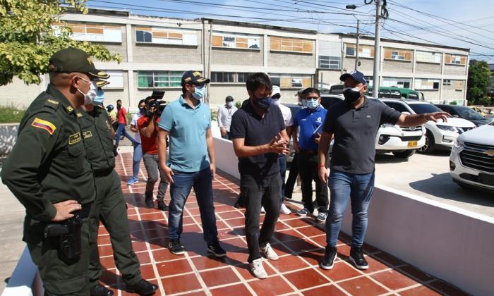 Habilitan nuevo Centro de Detención Transitoria en Barranquilla