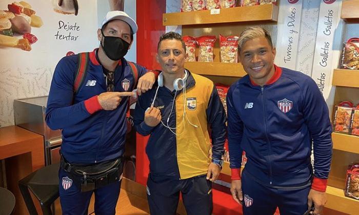Junior viaja a Pereira sin Didier Moreno, pero con Fuentes y Sánchez