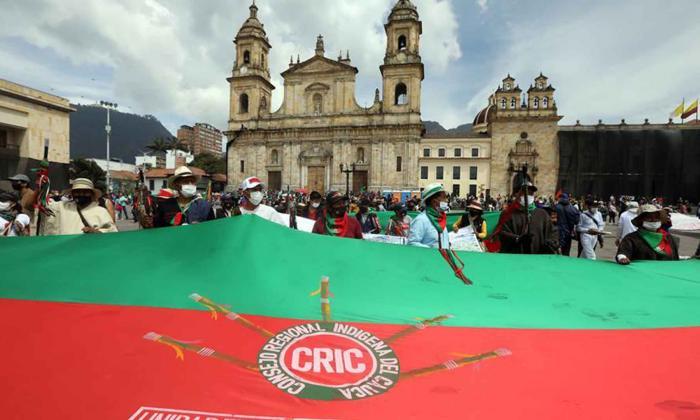 Pliego de 4 puntos presenta la Minga al Gobierno en Bogotá