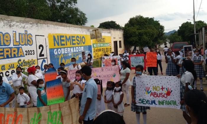 Piden justicia para niña wiwa víctima de abuso sexual
