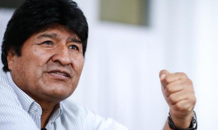 Evo Morales deja Argentina con rumbo a Venezuela