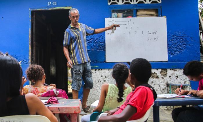 Las clases de película de un profesor callejero