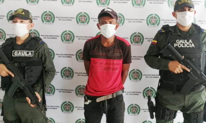 Alias 'El Negro' atemorizaba a nombre del Eln en zona rural de Sucre
