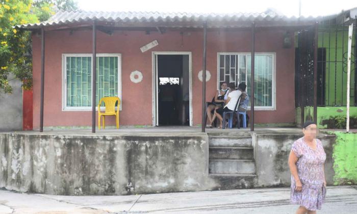 Lugar donde ocurrió el ataque a bala.