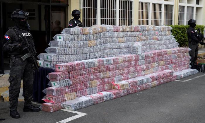 R. Dominicana halla cerca de 2 toneladas de cocaína procedente de Colombia