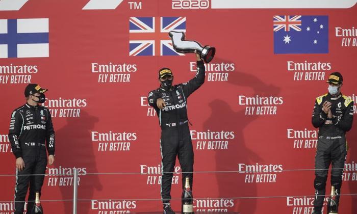 El séptimo cielo para Mercedes y Hamilton en Imola