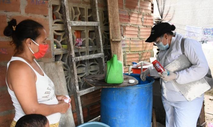 Intensifican prevención contra el dengue en los municipios del Atlántico