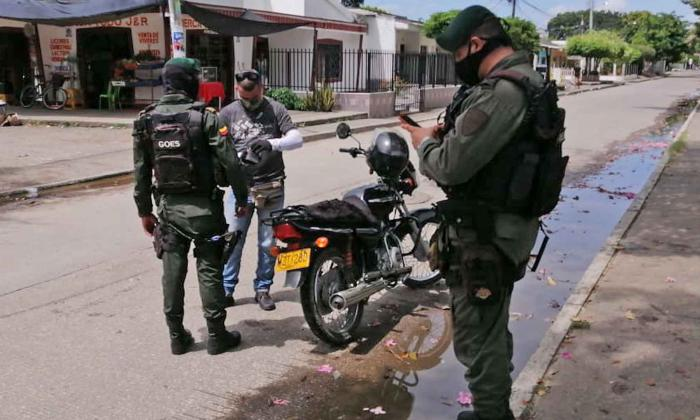 Más de 200 comparendos por violar la ley seca y el toque de queda en Córdoba