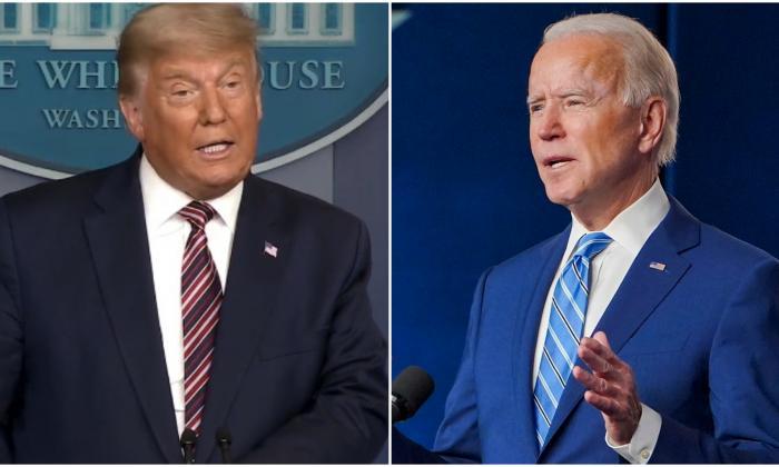 """Biden confía en su victoria, Trump lo acusa de """"robar"""" las elecciones"""