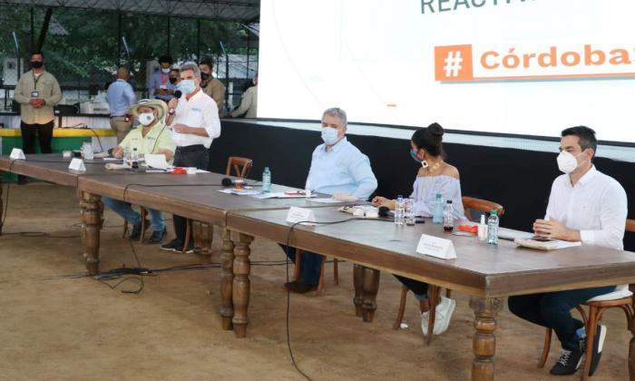 Anuncian millonaria inversión para el Nudo de Paramillo, sur de Córdoba