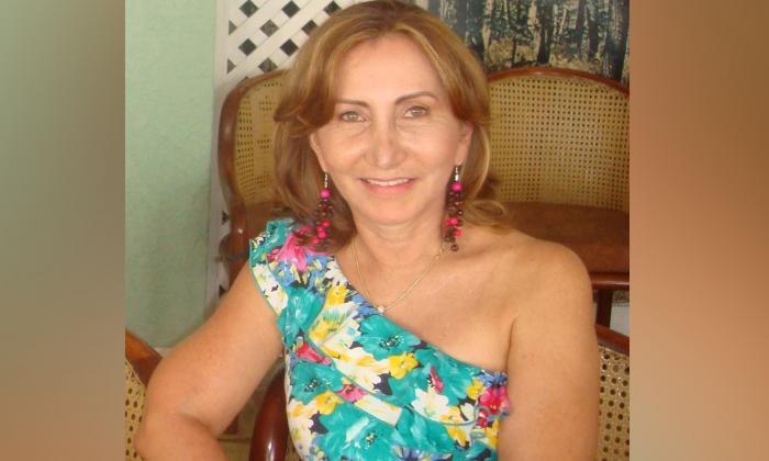 Zarina Romero de Ávila, fallecida.